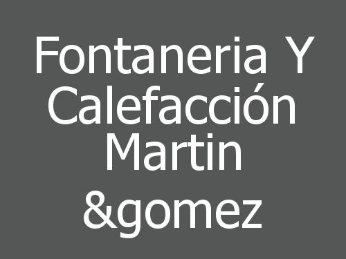 Fontaneria Y Calefacción Martin &gomez