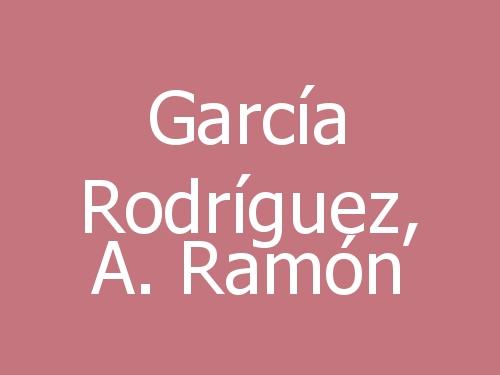 García Rodríguez, A. Ramón