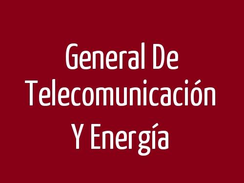 General De Telecomunicación Y Energía