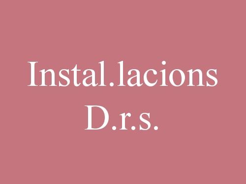 Instal.lacions D.r.s.