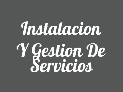 Instalacion Y Gestion De Servicios