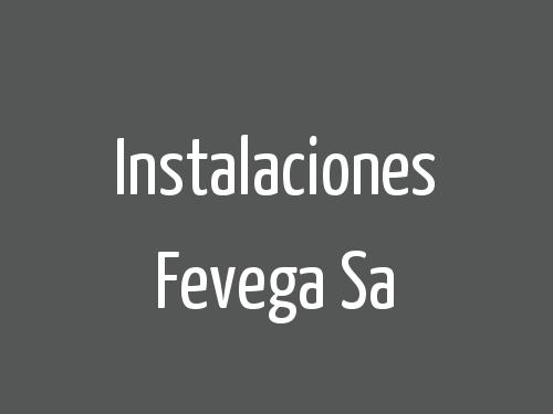 Instalaciones Fevega Sa