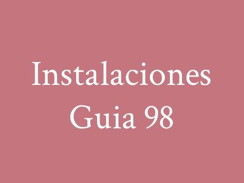 Instalaciones Guia 98
