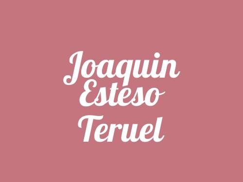 Joaquin Esteso Teruel