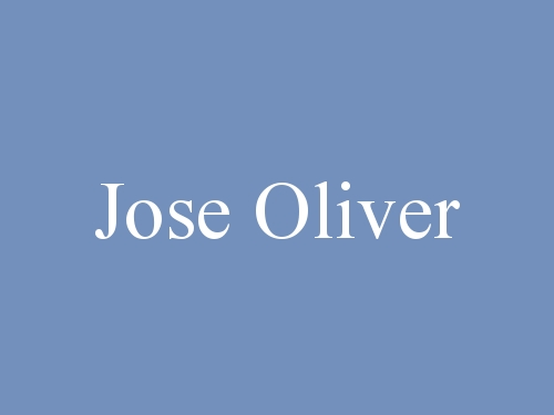 Jose Oliver