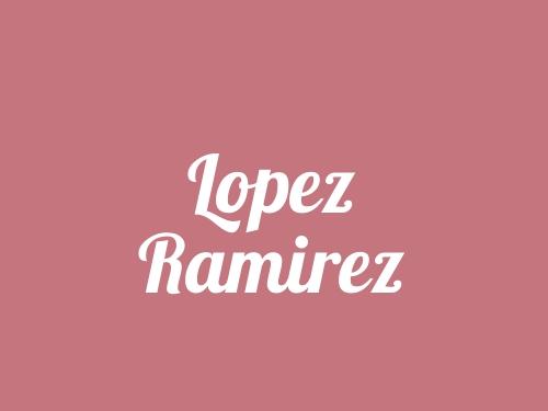 Lopez Ramirez