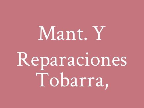 Mant. Y Reparaciones Tobarra,