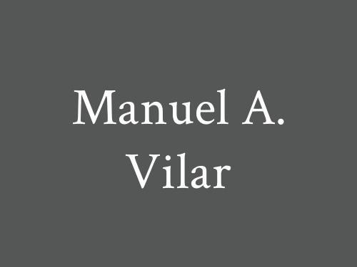 Manuel A. Vilar