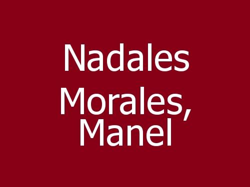 Nadales Morales, Manel