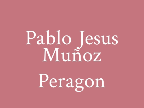 Pablo Jesus Muñoz Peragon