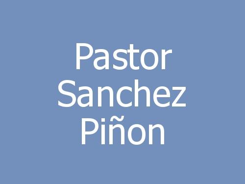 Pastor Sanchez Piñon