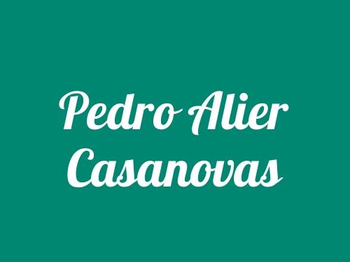 Pedro Alier Casanovas