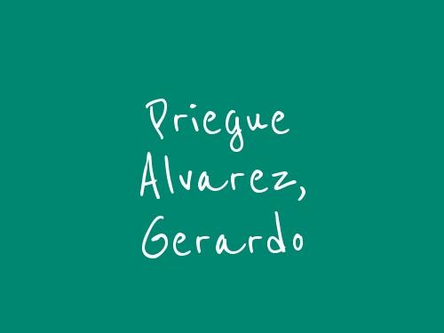 Priegue Alvarez, Gerardo
