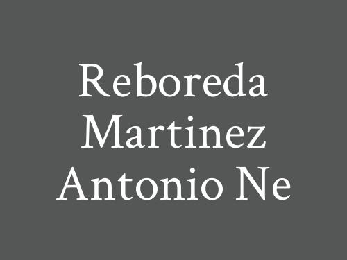 Reboreda Martinez Antonio Ne