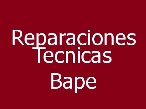 Reparaciones Tecnicas Bape