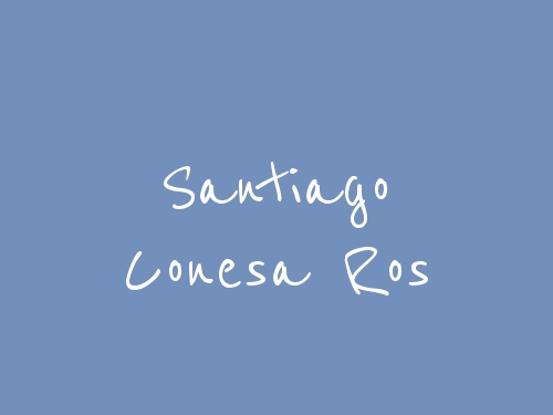 Santiago Conesa Ros