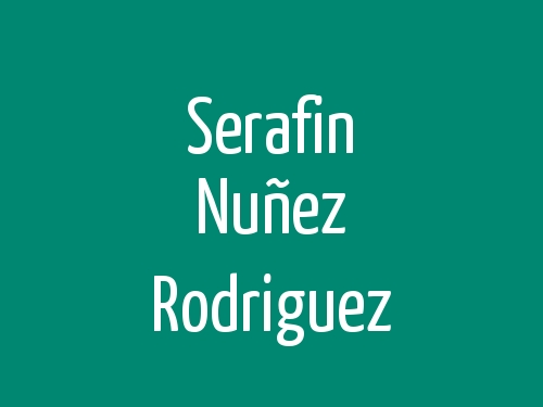 Serafin Nuñez Rodriguez