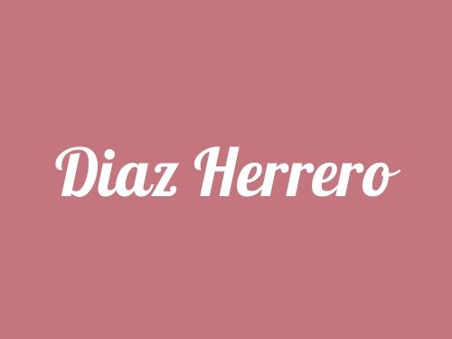 Diaz Herrero