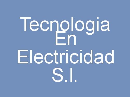 Tecnologia En Electricidad S.l.