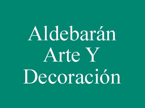 Aldebarán Arte Y Decoración
