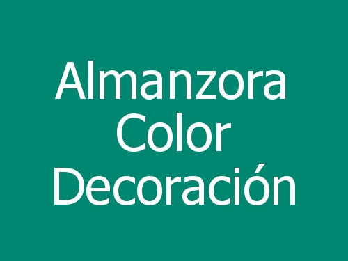 Almanzora Color Decoración