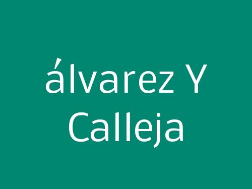 álvarez Y Calleja