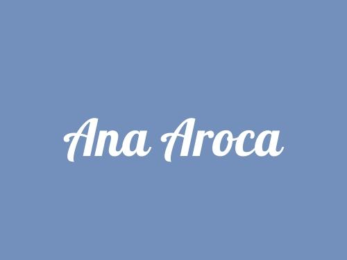 Ana Aroca