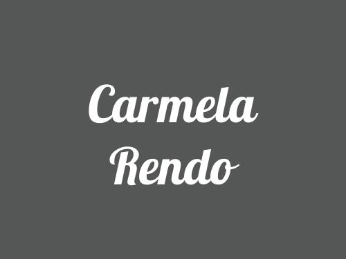 Carmela Rendo