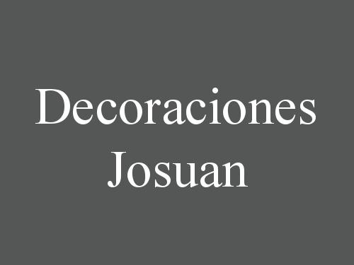 Decoraciones Josuan