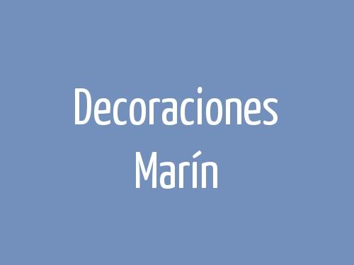 Decoraciones Marín