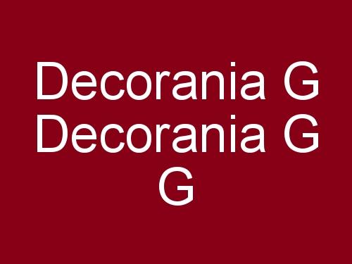 Decorania G G