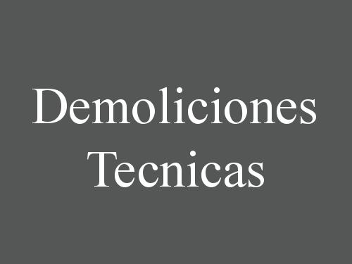 Demoliciones Tecnicas