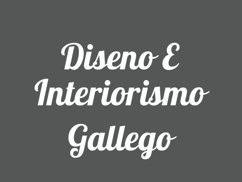 Diseno E Interiorismo Gallego