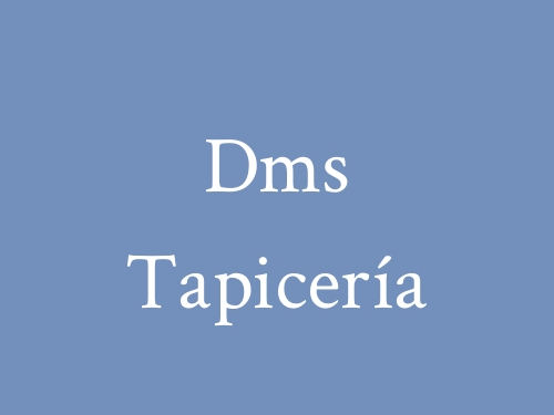 Dms Tapicería