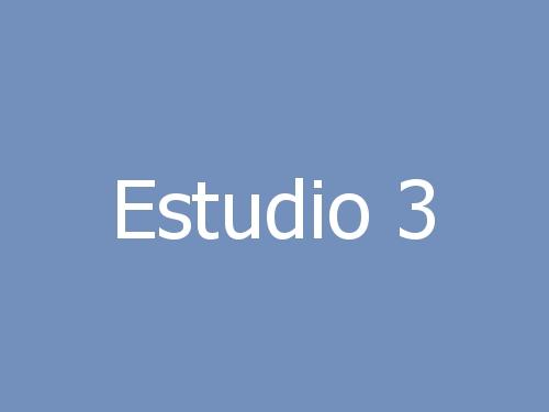 Estudio 3