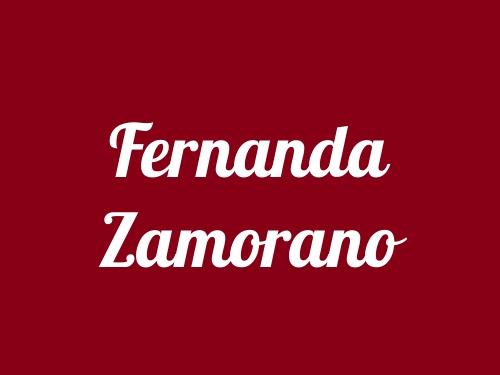 Fernanda Zambrano