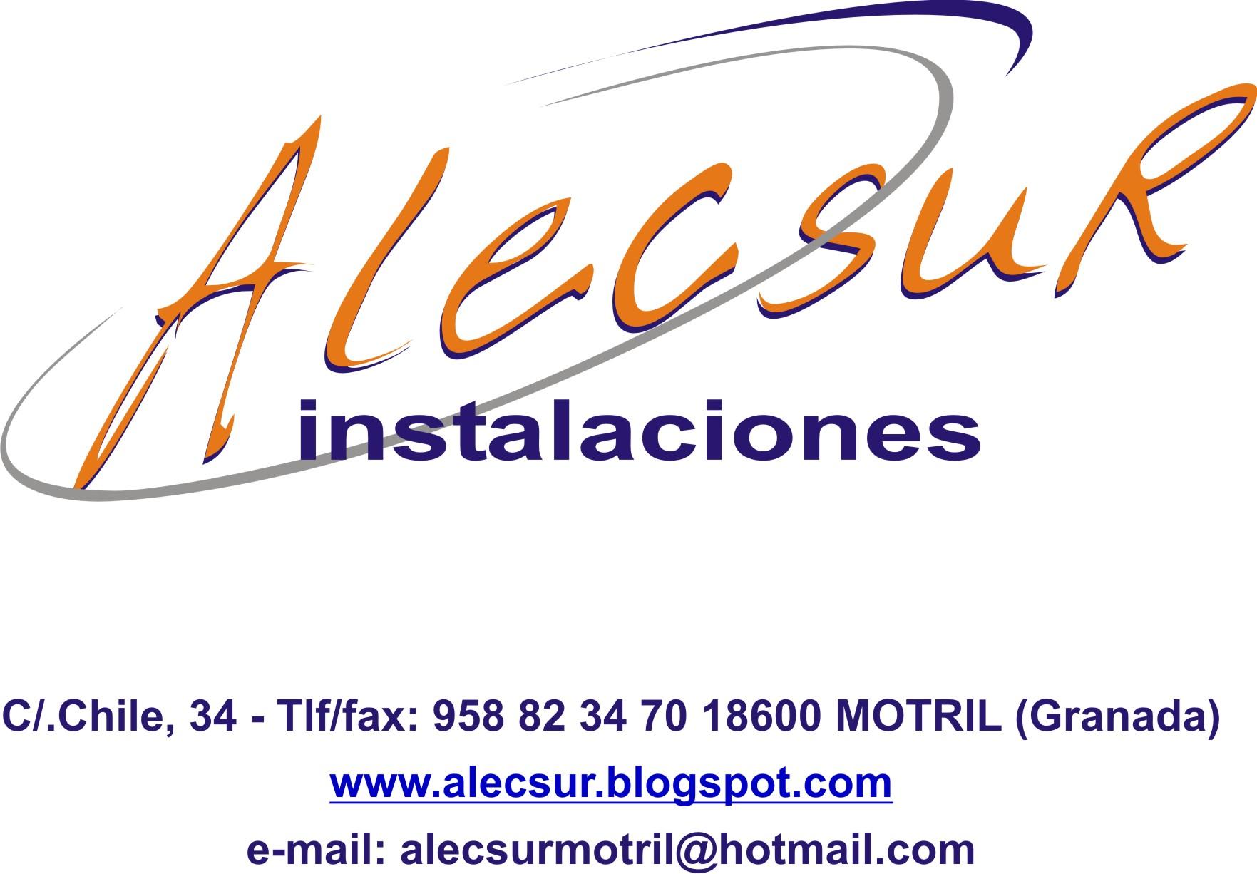 Alecsur Instalaciones Sl.