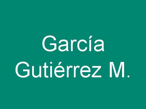 García Gutiérrez M.