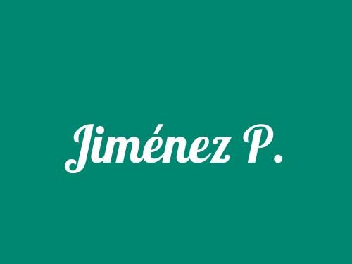 Jiménez P.