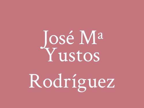 José Mª Yustos Rodríguez