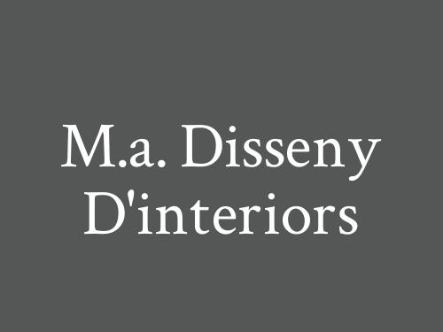 M.A. Disseny D'interiors