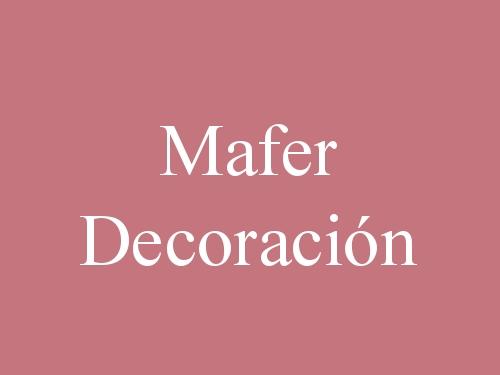Mafer Decoración