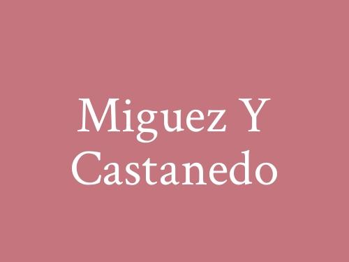 Miguez Y Castanedo