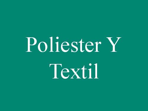 Poliester Y Textil