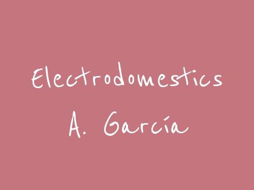 Electrodomestics A. García