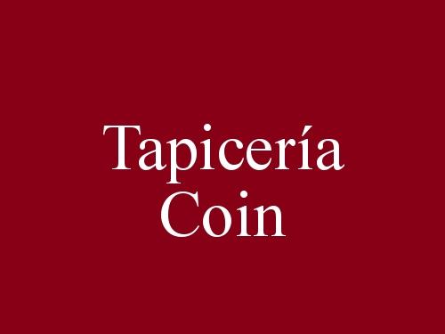 Tapicería Coin