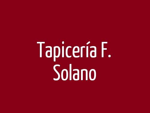 Tapicería F. Solano
