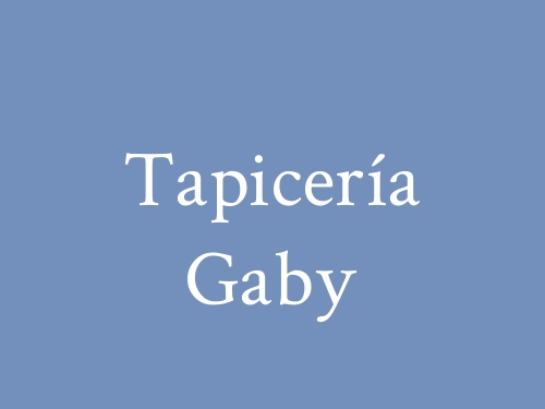 Tapicería Gaby