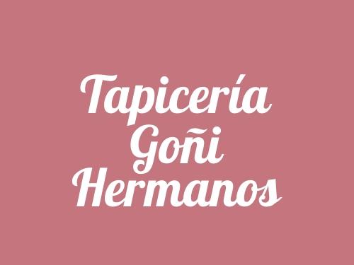 Tapicería Goñi Hermanos