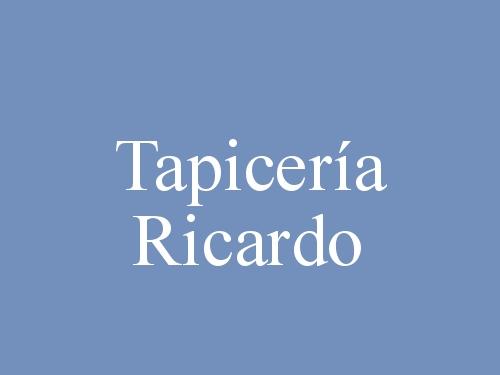 Tapicería Ricardo